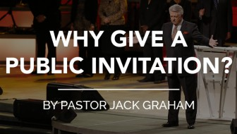 Why Give A Public Invitation?