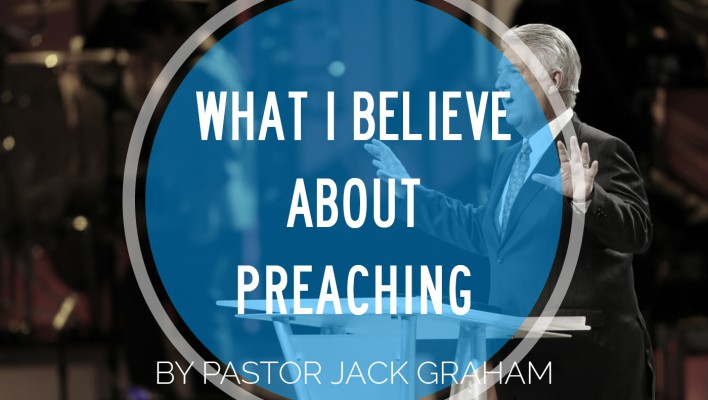 What I beleive about Preaching