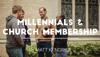 Millennials and Church Membership