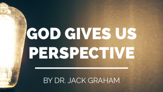 God Gives Us Perspective