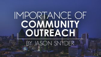 Importance of Community Outreach