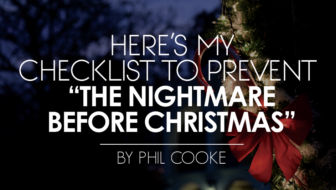 "Here's My Checklist to Prevent ""The Nightmare before Christmas"""