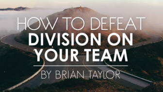 How to Defeat Division on Your Team