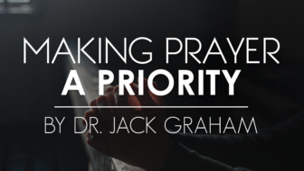 Making Prayer a Priority